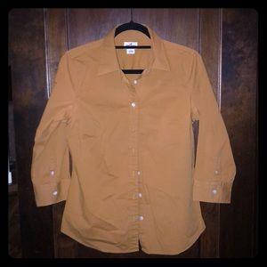 Women's J. Crew button up dress shirt, size L